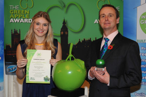 Green Apple award photo CAMBRIDGE ECOLOGY